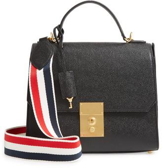 Thom Browne Mrs. Thom Leather Flap Crossbody Bag