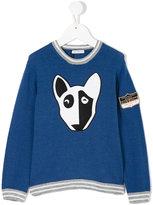 Dolce & Gabbana dog print jumper