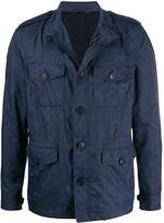 Etro multi-pocket paisley jacket