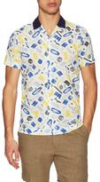 Commune De Paris Hawai Printed Sportshirt