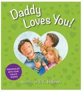 "Bed Bath & Beyond ""Daddy Loves You!"" Board Book by P.K. Hallinan"