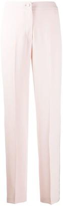 Blumarine Side Studded Pleated Trousers