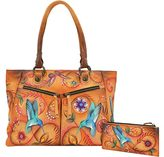 Anuschka Women's Large Shopper with Front Pockets