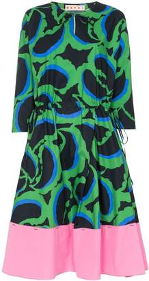 Marni printed midi-dress