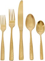 Fortessa Lucca Honeycomb Stainless Steel 5-Piece Place Setting