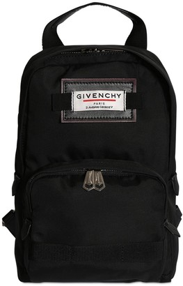 Givenchy Single Shoulder Strap Nylon Backpack