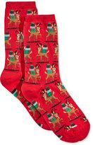 Hot Sox Women's Reindeer with Presents Socks