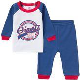 Gerber Baby New York Giants 2-Piece Thermal Pajama Set