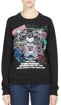 Kenzo Flyer X Tiger Cotton Sweatshirt