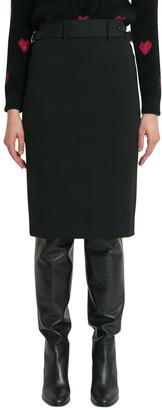 RED Valentino Midi Pencil Skirt
