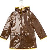 Fendi Boys' Zucchino Hooded Raincoat