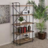 Christopher Knight Home Yorktown 5-Shelf Industrial Etagere Bookcase