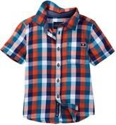 Lucky Brand Pier Woven Check Shirt (Big Boys)