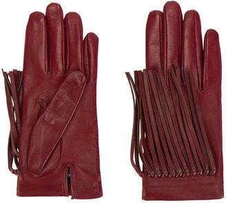 Gala fringed gloves