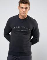 Jack Wills Barmby Crew Sweatshirt Chest Logo