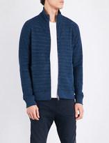 HUGO BOSS Textured cotton-jersey sweatshirt