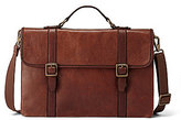 Fossil Estate Leather Portfolio Briefcase