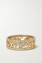 Thumbnail for your product : Sydney Evan Icon 14-karat Gold Diamond Ring - 6 1/2