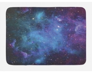 Ambesonne Outer Space Bath Mat Bedding