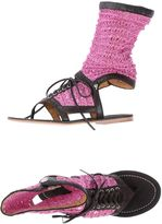 Cycle Toe strap sandals - Item 44729705