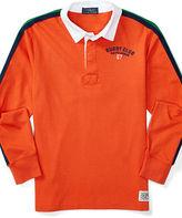 Ralph Lauren Cotton Jersey Rugby Shirt