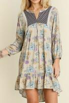 Umgee USA Wild Floral Dress