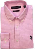 U.S. Polo Assn. Men's Mini Check Button-Down