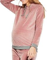 Topshop MATERNITY Velour Loungewear Hoodie