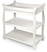 The Well Appointed House White Sleigh Style Changing Table