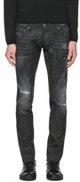 DSQUARED2 Black Micro-Studded Clement Jeans