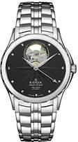 Edox Women's 85013 3 NIN Grand Ocean Analog Display Swiss Automatic Silver-Tone Watch