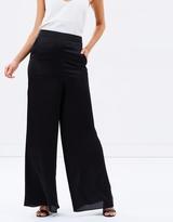 Bethany Silky Wide Leg Pants