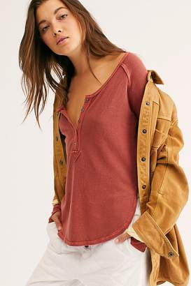 We The Free Back To Basics Henley at Free People