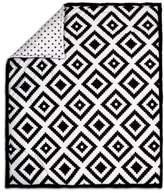The Peanut Shell Tile Quilt in Black/White