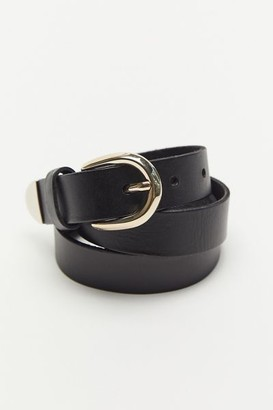 Urban Outfitters Metal-Tipped Leather Belt