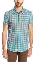 Lucky Brand Men's Short-Sleeve San Berdu Western Shirt