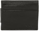 Boconi Magnetic Money Clip Leather Card Case