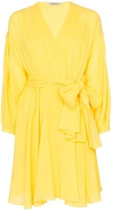 Three Graces Carina wrap mini-dress