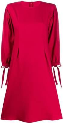 FEDERICA TOSI pleated waist dress