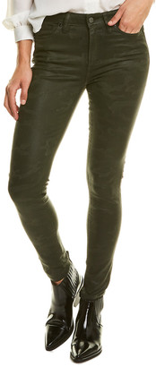 Joe's Jeans The Icon Coated Laser Camo Ankle Cut Jean