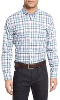 Maker & Company Men's Regular Fit Plaid Sport Shirt