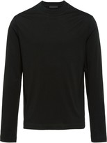 Prada Long-sleeved jersey T-shirt