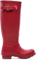 Hunter Tall Rain Boot in Red. - size 10 (also in 7,8)