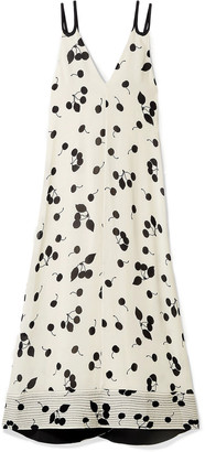 3.1 Phillip Lim Open-back Printed Crepe Maxi Dress