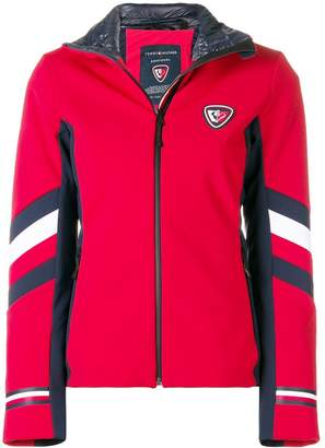 Rossignol x Tommy Hilfiger fitted zipped jacket