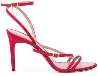 Oscar de la Renta strappy high heel sandals