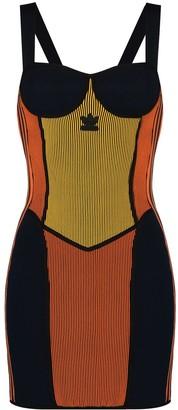 adidas x Paolina Russo corset dress