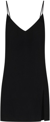 Reformation Slit Detail Mini Dress
