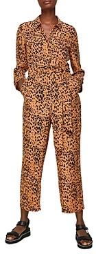 Whistles Safari Print Jumpsuit