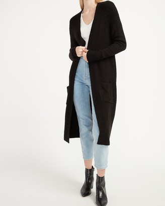 Express Cozy Patch Pocket Duster Cardigan